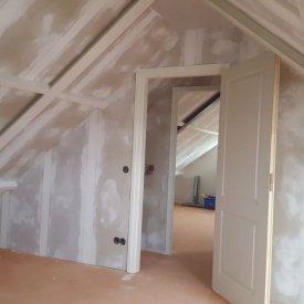 Verbouwing van een zolder in Bemmel