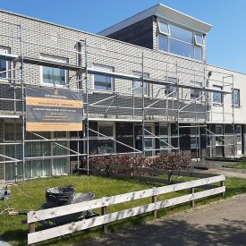 Gevelrenovatie in Wageningen
